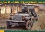 ACE 72278 1/72 2cm Flak 30 sfl SdKfz.10/4