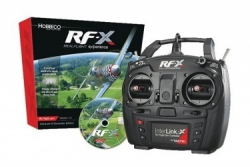 Symulator Realflight RF-X z koltrolerem RealFlight RF 8