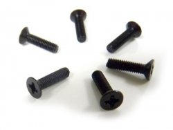 Flat Head Screws 3x12 6p - 31059