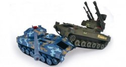 Zestaw wzajemnie walczących czołgów Double Eagle
