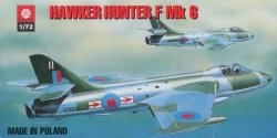 Plastyk S-007 Hawker Hunter F Mk6