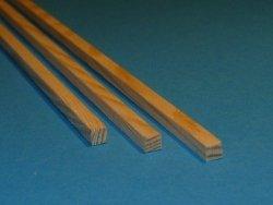 Listwa sosnowa - 5x5x1000mm
