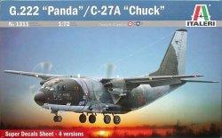 """Italeri 1311 G.222 """"Panda""""/C-27A """"C"""