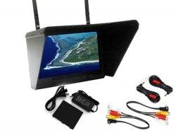 Monitor Black Pearl LCD 7 1024x600 - Dwa Odbiorni