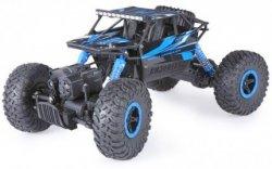 HB: ROCK CRAWLER 4WD 1:18 - Niebieski AUTO RC