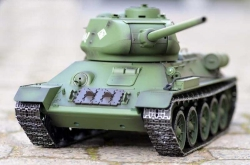 Czołg  T34/85 1:16 2,4GHz + Dym metal Heng Long