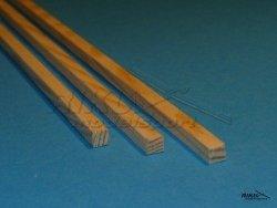 Listwa sosnowa - 1,5x1,5x1000mm