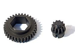 GEAR SET FOR BACK PLATE UNIT FOR NITRO STAR