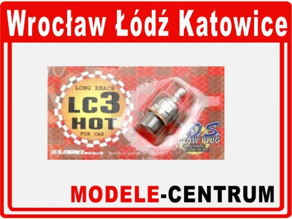 Świeca - O.S. LC3 HOT Long