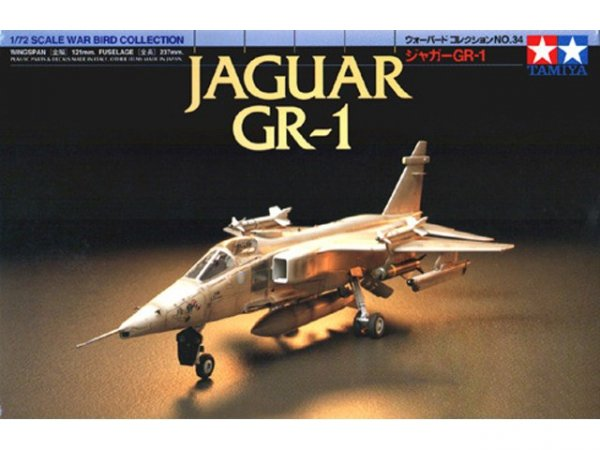 Tamiya 60734 JAGUAR GR1 1/72