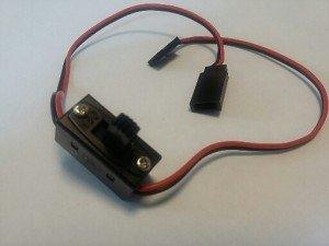 Wyłącznik zasilania 0,25mm2 z gniazdem ładowania