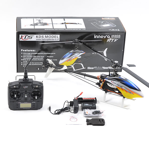 Helikopter KDS 450 QS 3D 2,4GHz RTF