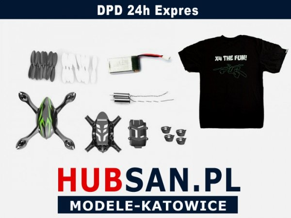 Zestaw naprawczy do Hubsan H107C i H107CHD (z kame