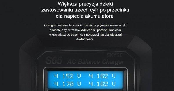 Ładowarka SkyRC S65 65W 6A