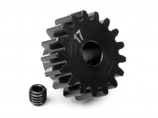 PINION GEAR 17 TOOTH (1M / 5mm SHAFT) 100916