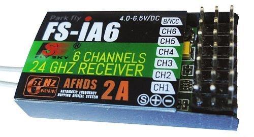 Odbiornik FlySky FS-iA6  2,4GHz - Telemetria - do