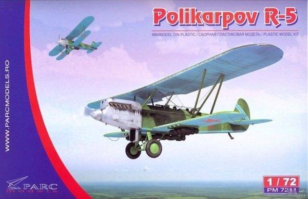 Parc Models 7211 1/72 Polikarpov R-5