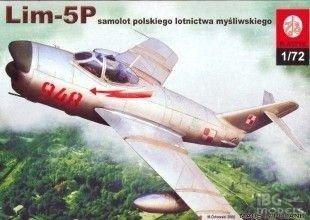 Plastyk S029 1/72 LIM-5P