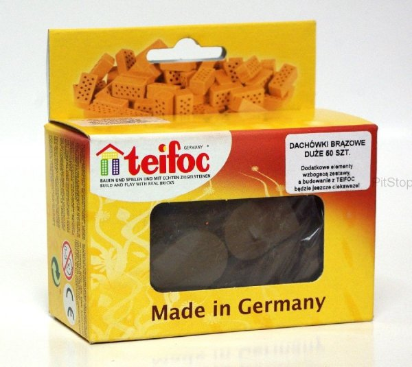 TEIFOC 903603 Dachówki duże - cegiełki dodatkowe
