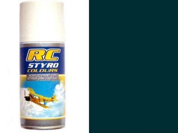 Lakier RC STYRO 312 GREEN do pianki i styropian