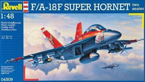 REVELL 04509 FA-18F SUPER HORNET