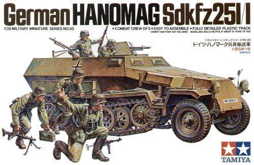 TAMIYA 35020 1/35 Hanomag SD.KFZ 251/1
