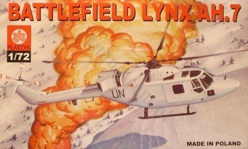 PLASTYK S 019 Battlefield Lynx AH.7