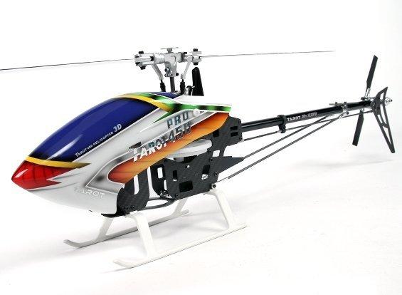 Helikopter RC Tarot 450 PRO V2 FBL SILVER