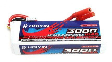 Akumulator 3000mAh 14,8V LiPo 40C Haiyin