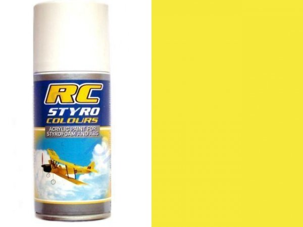 Lakier RC STYRO 019 YELLOW