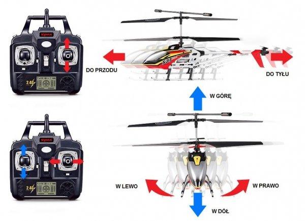 Helikopter 2,4GHz Syma S37