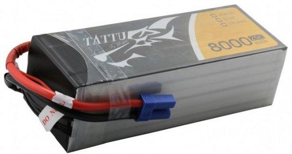 Akumulator Tattu 8000mAh 22.2V 25C 6S1P