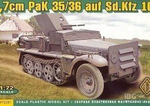 ACE 72281 1/72 37mm Pak 35/36 auf Sd.Kfz.