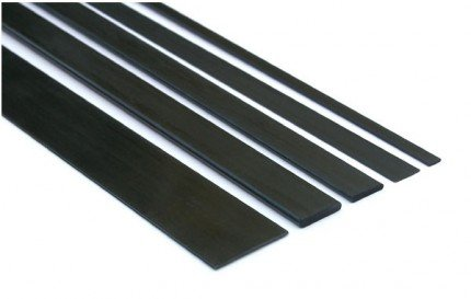 Listwa węglowa 3,0x3,0x1000 mm TPC