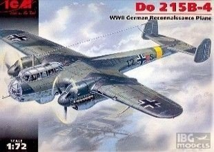 ICM 72301 1/72 Do 215 B-4 German Reconnais
