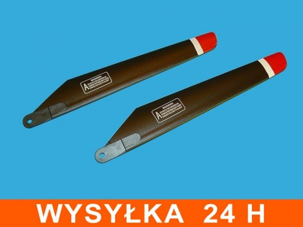 Łopaty śmigła  FX059 dł 185mm