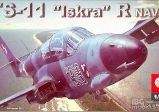 Plastyk S047 1/72 TS-11 Iskra R Navy
