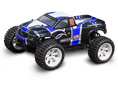 Monster Truck Painted Body Blue (Strada EVO MT) MV