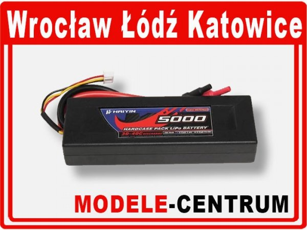 Akumulator 7,4V 5200mAh 30C Hard Case