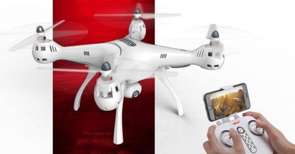 Dron Syma X8Pro biały (RTF)  z GPS