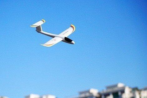Szybowiec Zeta  swobodnie latający