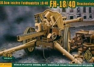 ACE 72226 1/72 10.5cm German Feldhaubitze