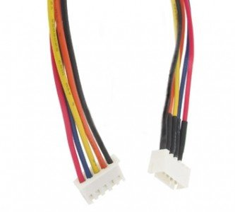 Para przewódow balancera 4S z kablem 10cm