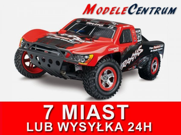 TRAXXAS NITRO SLASH 2WD TSM SPALINA 1/10 RTR