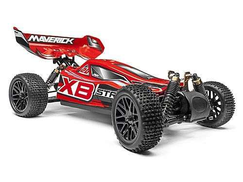 Mverick STRADA RED XB 1/10 4WD ELECTRIC BUGGY AUTO RC