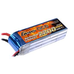 Gens Ace: 2200mAh 11.1V 25C XT-60 Akumulator