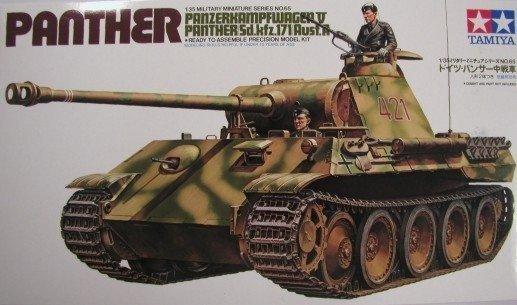 TAMIYA 35065 1/35 Sd.Kfz.171 Pz.Kpfw. V Panther Ausf.A