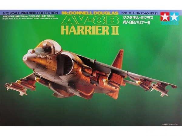 Samolot AV-8B HARRIER II Tamiya 60721 1:72