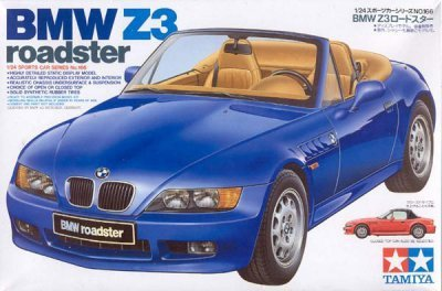 TAMIYA 24166 BMW Z3 ROADSTER 1/24