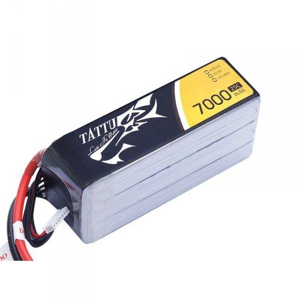 Akumulator Gens Ace: 7000mAh 22.2V 25C TATTU Gens